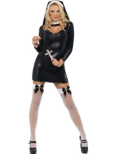 Sister Bliss - Sexy Fancy Dress Costume (Smiffys 28069)
